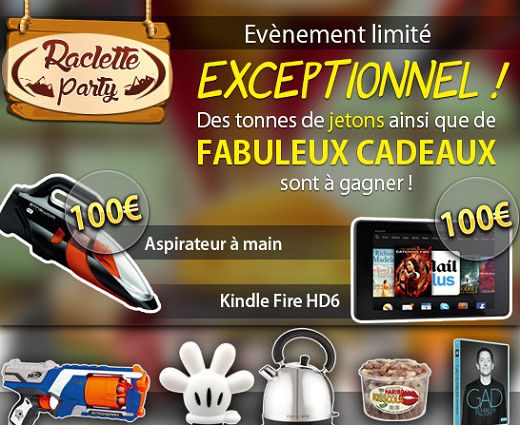 Raclette Party sur Gooprize