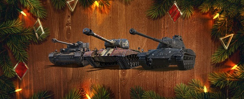 Boutique Premium nouvel an sur World of Tanks